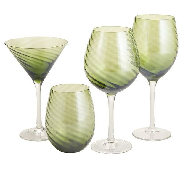 Pier 1 Assorted Glass Set