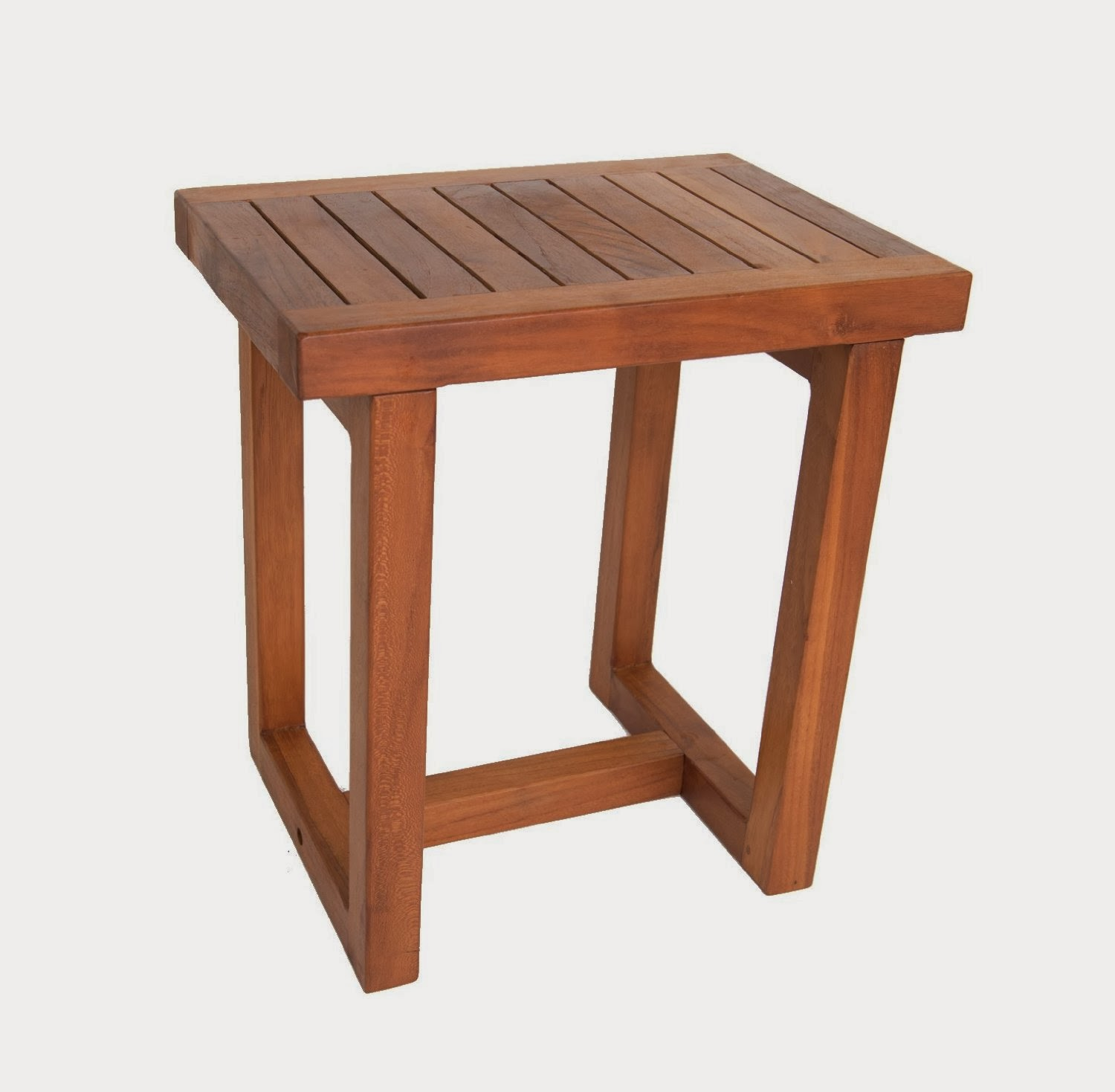 Amazing photo of Solid Teak Shower Bath Spa Stool Teak Bath Bench with #995532 color and 1500x1469 pixels