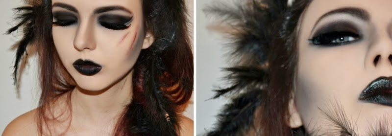 Halloween-Make-Up-Black-Swan