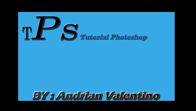 Tutorial Photoshop Teks Efek | Belajar Photoshop