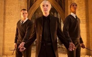 Imagen de Harry Potter 7 de Draco Malfoy, varita en mano