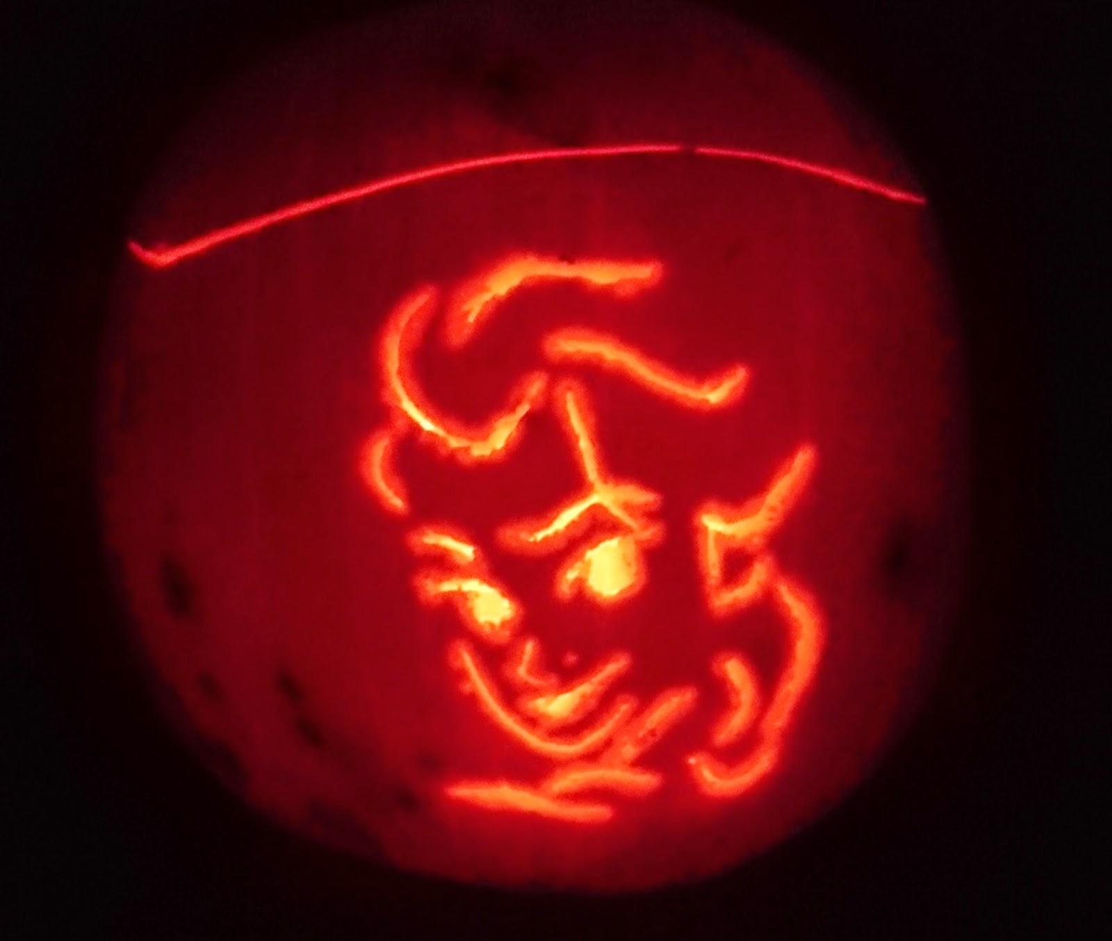 elsa pumpkin