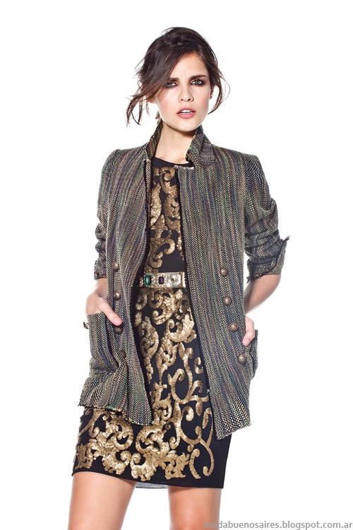 Maria Dahn moda invierno 2013 vestidos