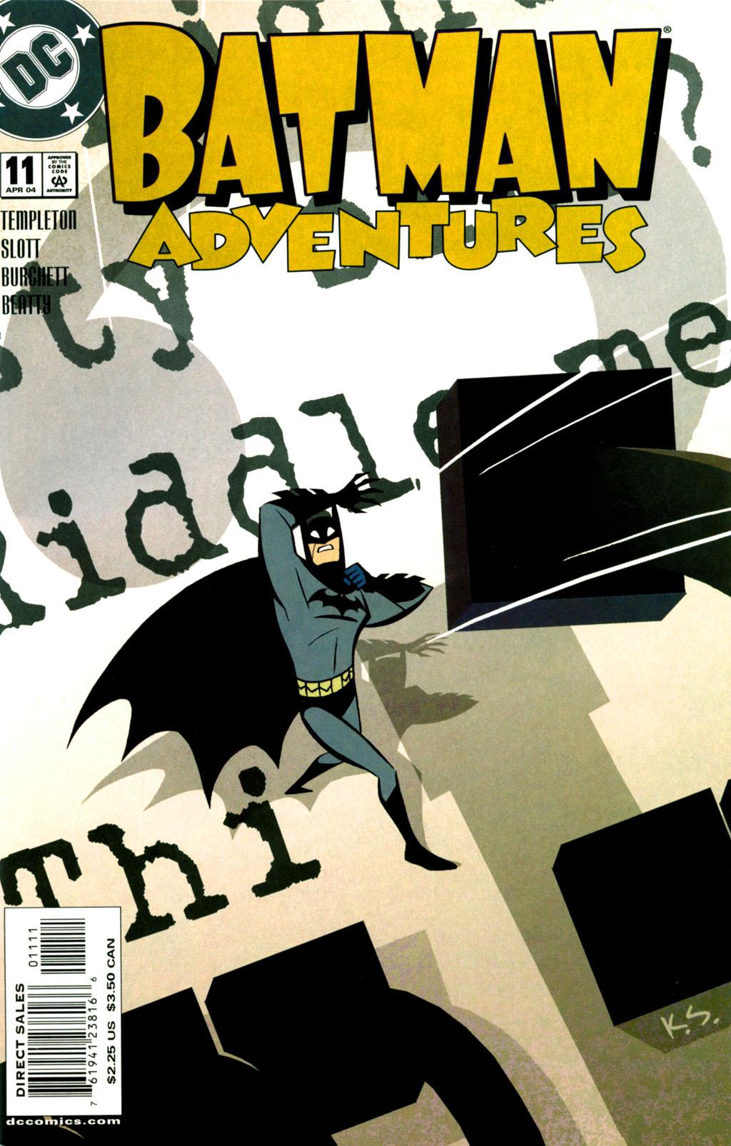 Batman Adventures (2003) 11 Page 1