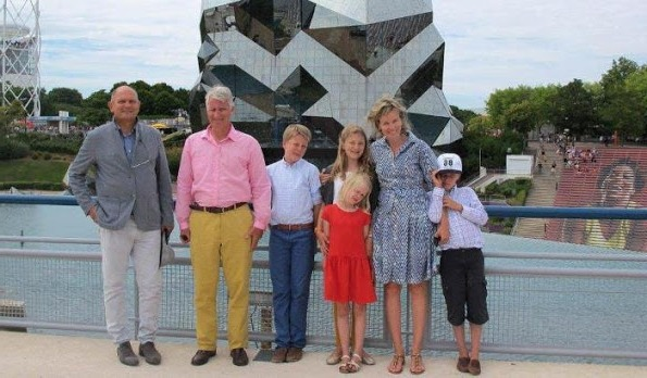 The Belgian Royal Family On Holiday In France 2015