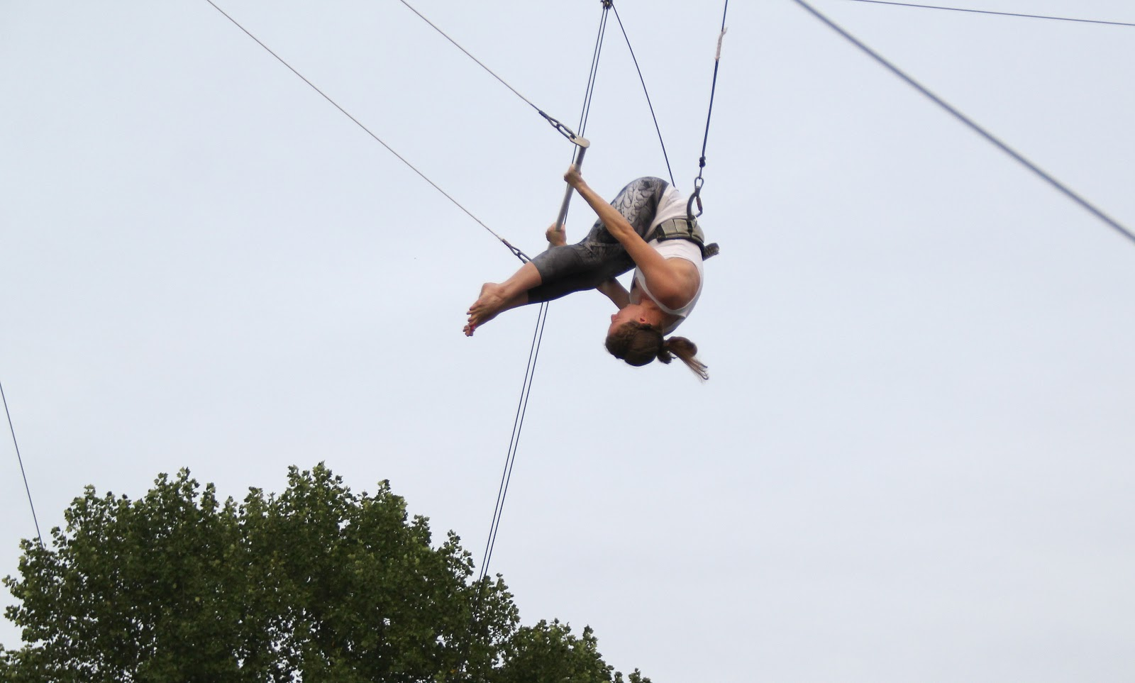 How to pump a trapeze 24