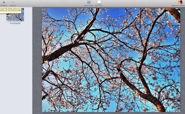 HDR写真ソフト効果