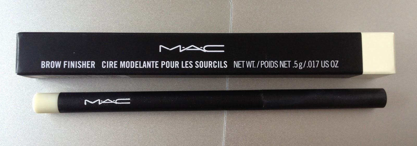 The Shopping Queen Mac Brow Finisher Review