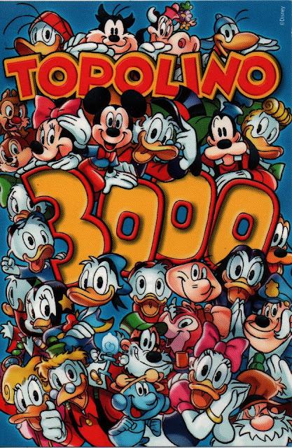 copertina Topolino 3000