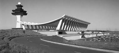 Eero Saarinen, Dulles International Airport, Chantilly, Virginia, 1958