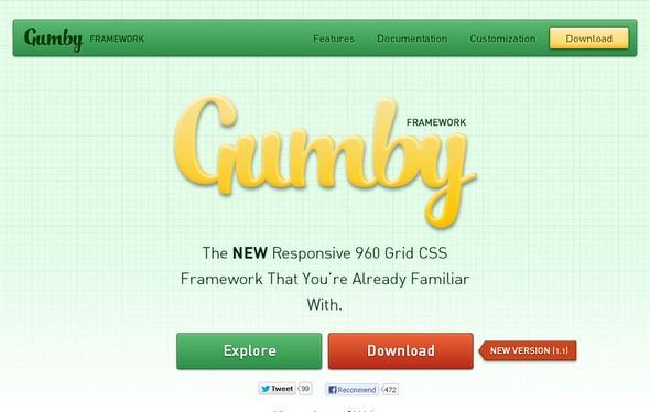 Gumby Responsive Framework