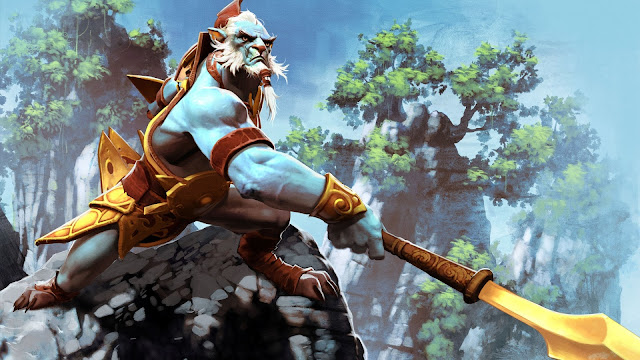 Dota 2 Phantom Lancer HD Wallpaper