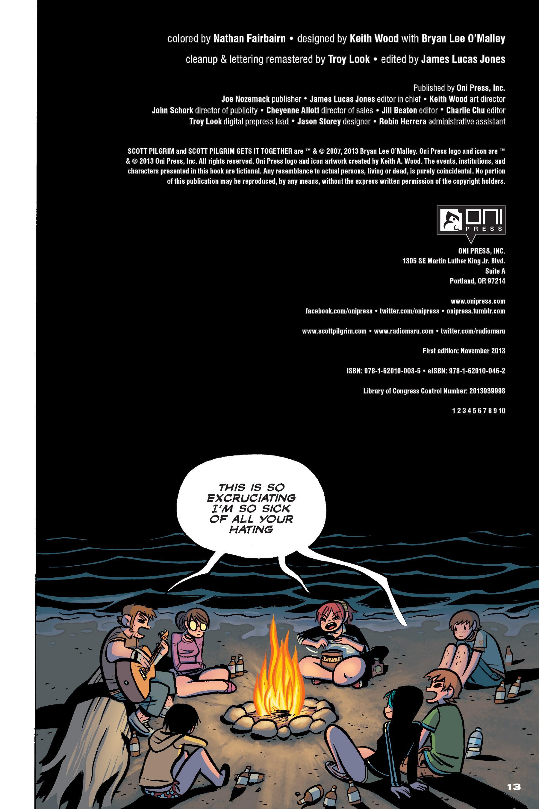 Read online Scott Pilgrim comic -  Issue #4 - 12