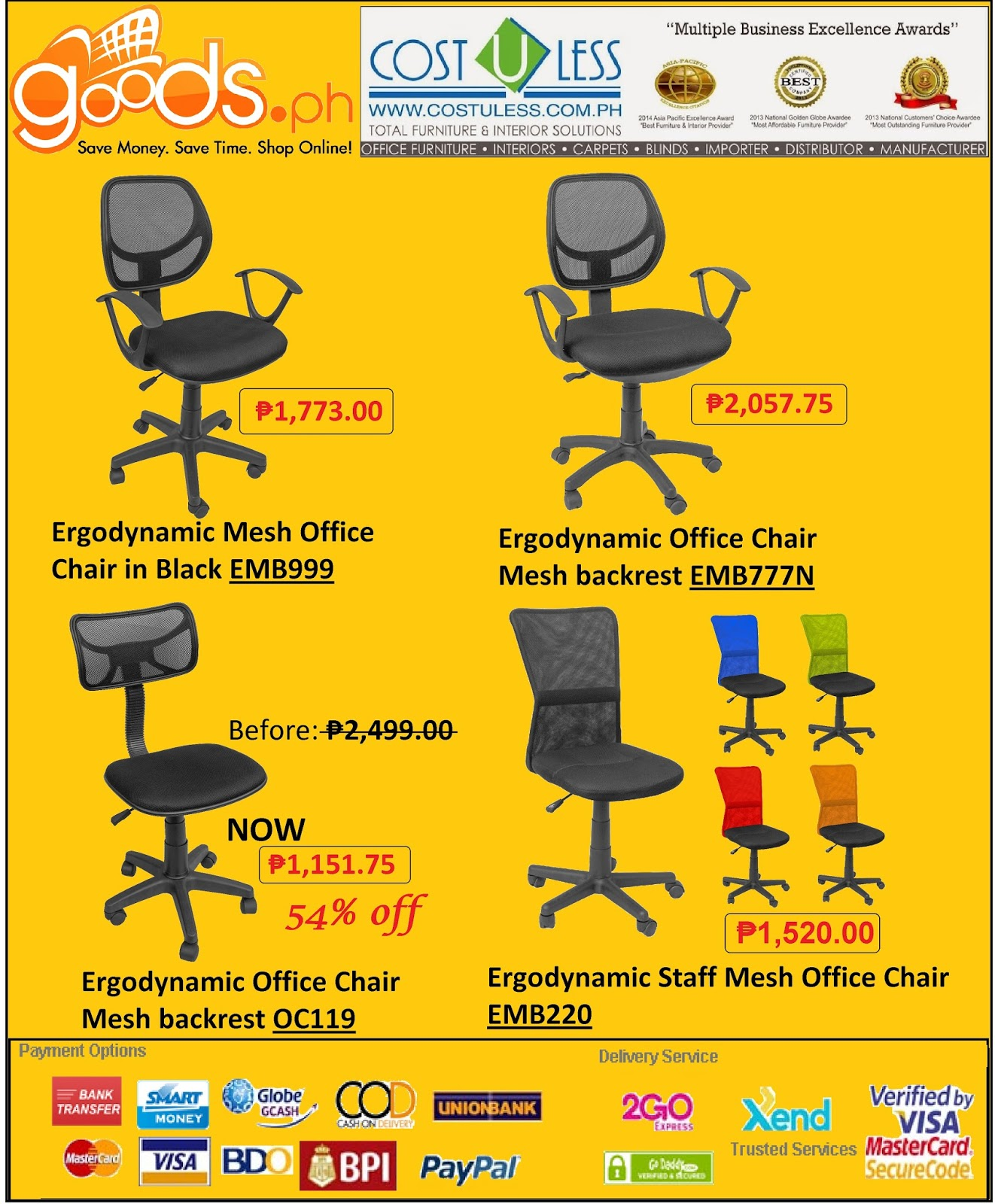 globe office chairs. Office Chair Furniture Sale At Goods.Ph Globe Chairs E