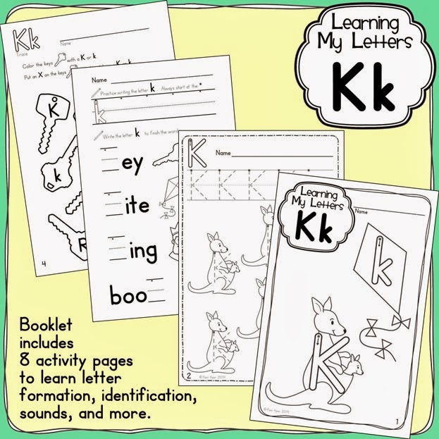 http://www.teacherspayteachers.com/Product/Learning-My-Letters-Kk-1140405