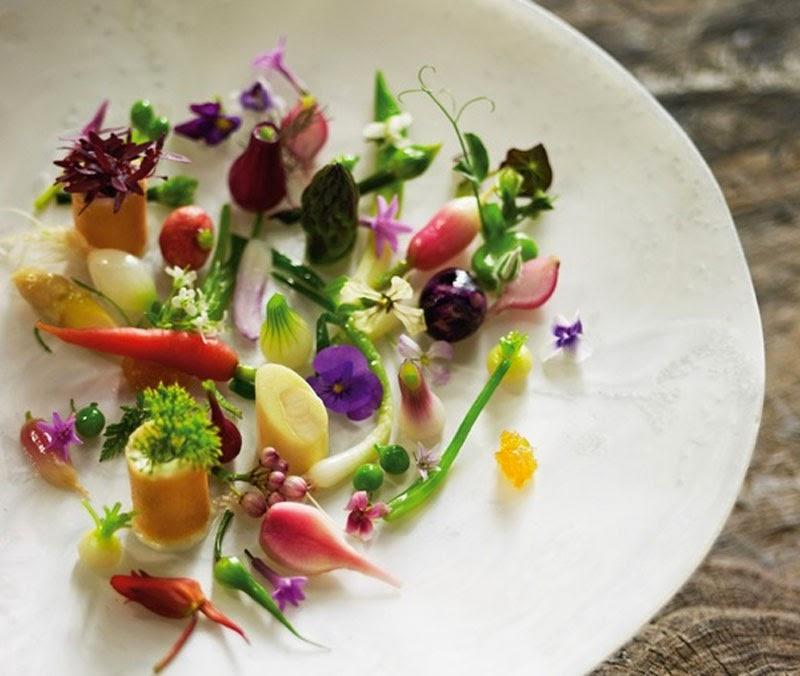 Maria victrix cocina y decora platos con flores for Decoracion de platos gourmet pdf