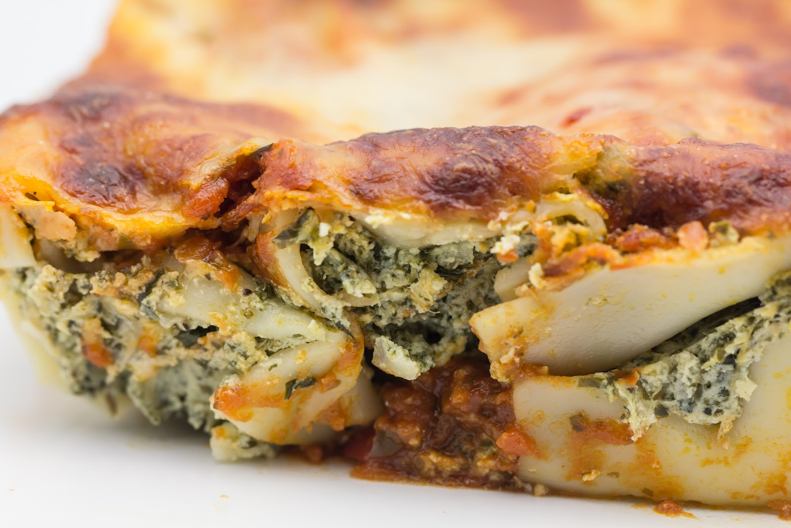 Spinach And Ricotta Manicotti Recipes — Dishmaps