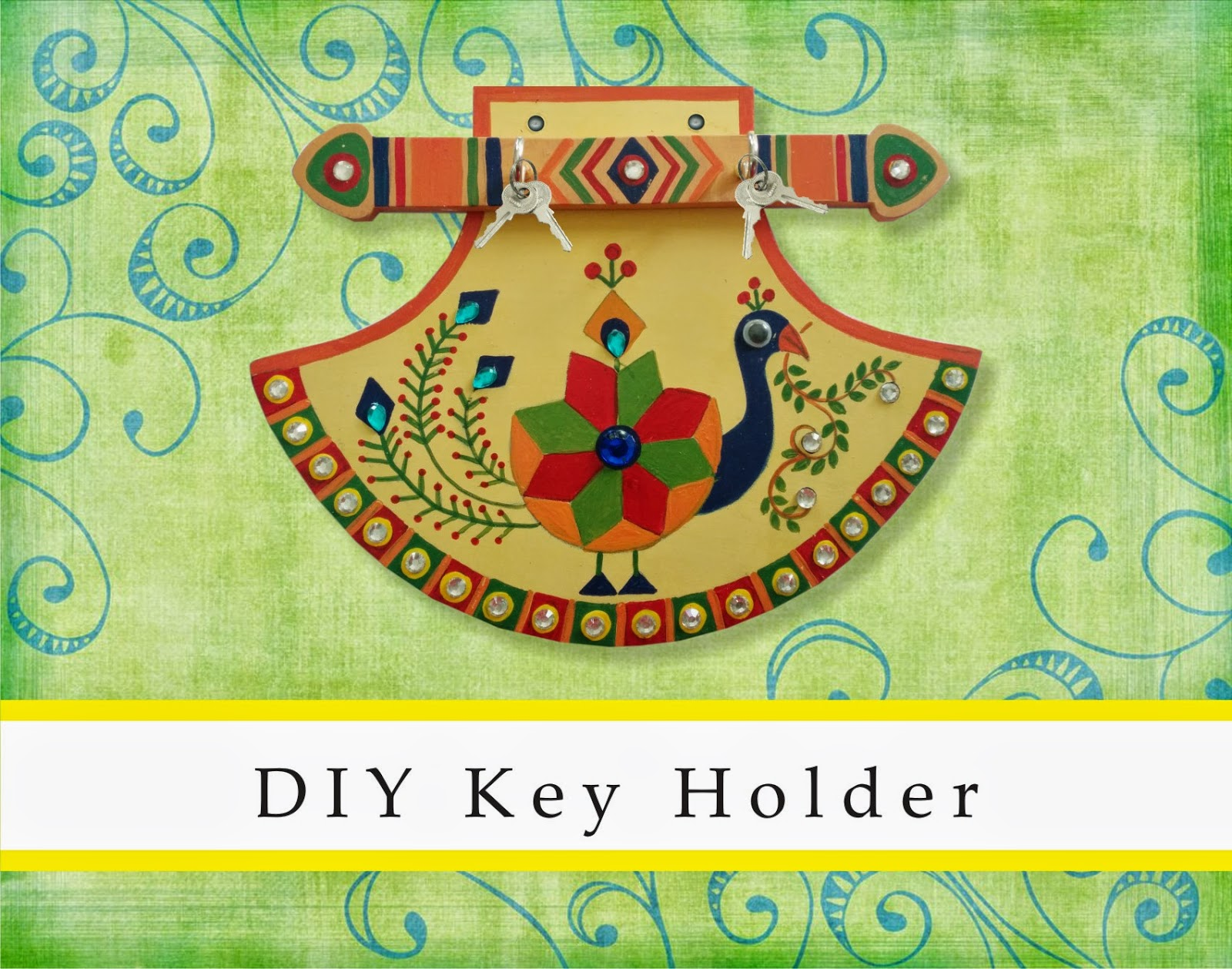 Fantastic do it yourself craft kits by the jaipur craft kit key holder kit inr rs 24500 per unit solutioingenieria Gallery