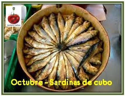 Octubre: Sardinas de Cubo