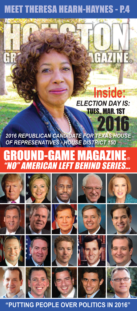 VOLUME 1 NO. 10 OF GROUND GAME MAGAZINE FEATURING THERESA HEARN HAYNES ON THE COVER