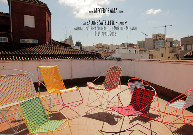 Marzua llene su terraza de color con las mecedoras de for Mecedora terraza