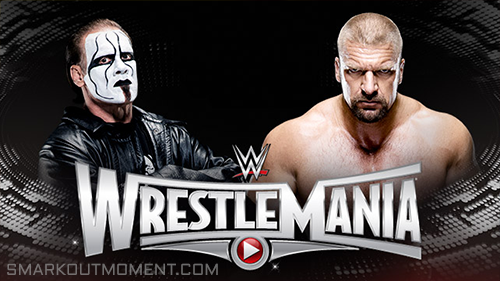 WWE WrestleMania 2015 Sting vs HHH WrestleMania 31