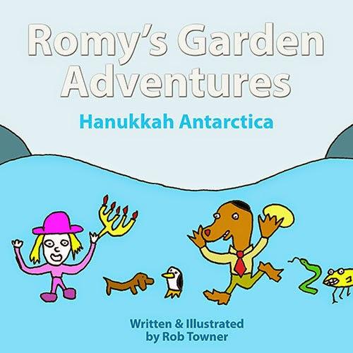 Romy's Garden Adventures: Hanukkah Antarctica