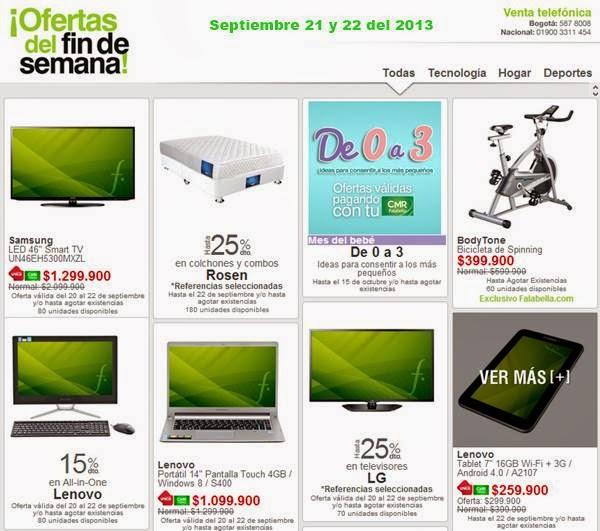 Ofertas de fin de semana falabella 21 22 septiembre 2013 for Ofertas de futones