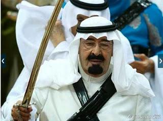 pedang raja arab