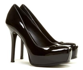 Black Elf Shoe Covers