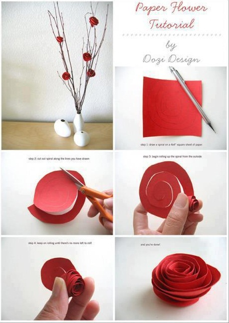 teknik lipatan kertas yang lain kertas gunting gam pen atau pensel dan ...