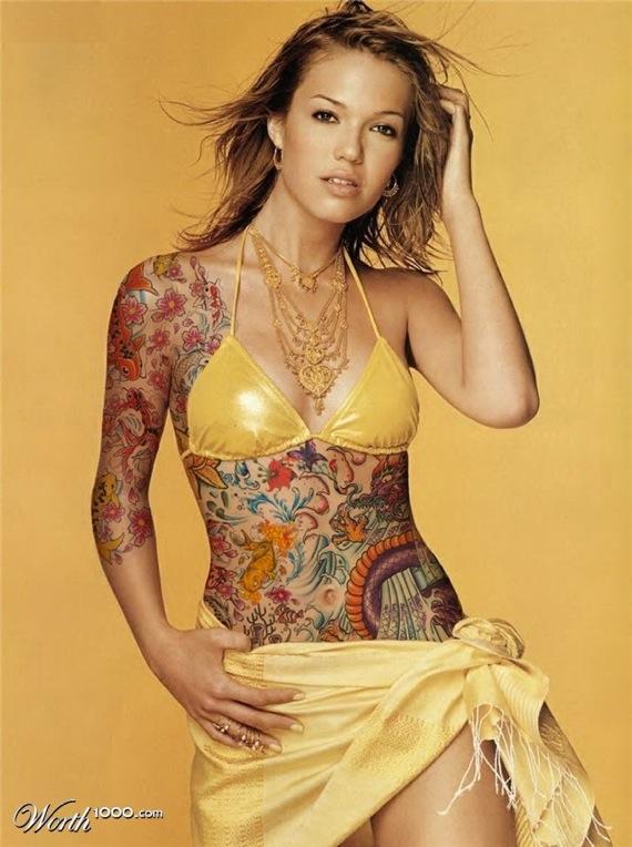 Mandy Moore Tattoojpg