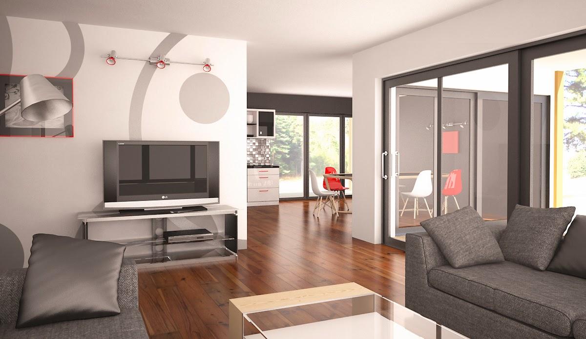 Plantas de casas modernas planta de casa moderna ch180 for Casa moderna 5