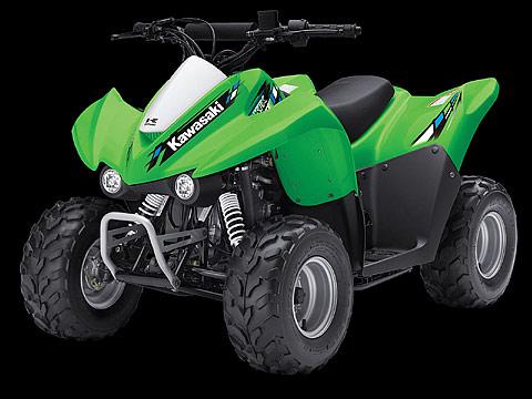 2013 Kawasaki KFX50 ATV pictures. 480x360 pixels