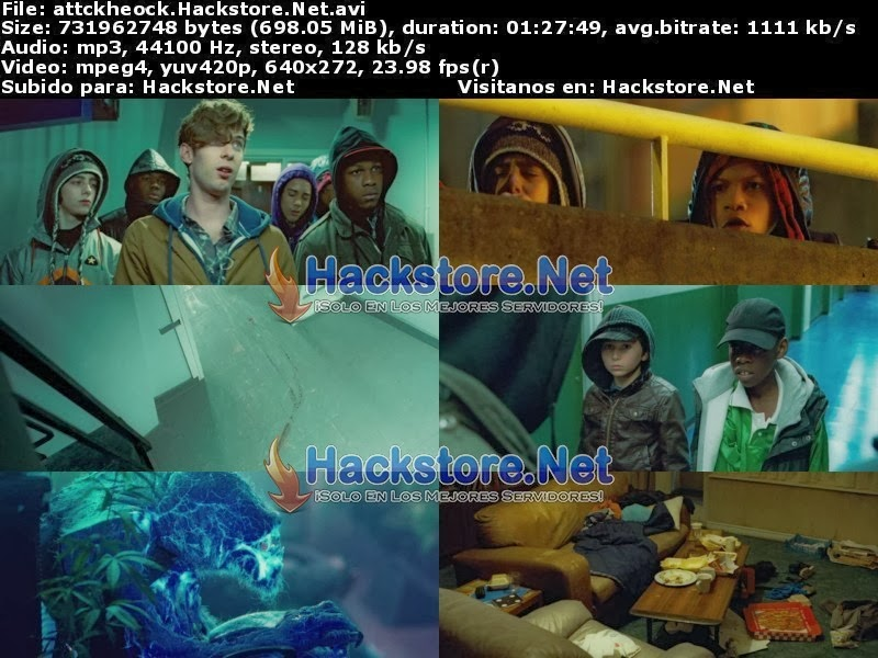 Captura Ataque Extraterrestre (2011) Dvdrip Latino