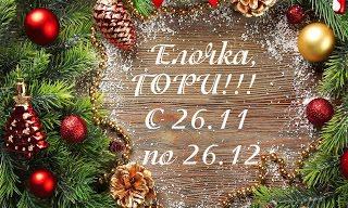 """+++Задание """"Елочка гори..."""" 26/12"""