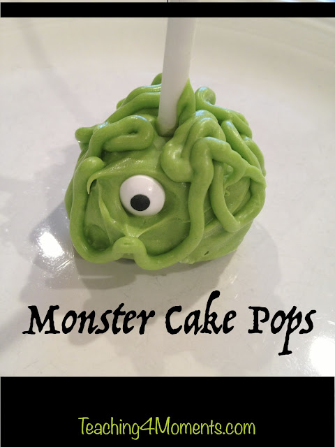 How to make monster cake pops with your kids.