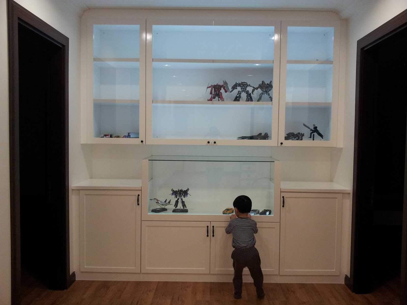 NEW Toy Cabinet