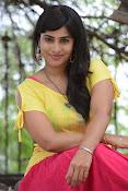 Aparna Glam pics in yellow top-thumbnail-8