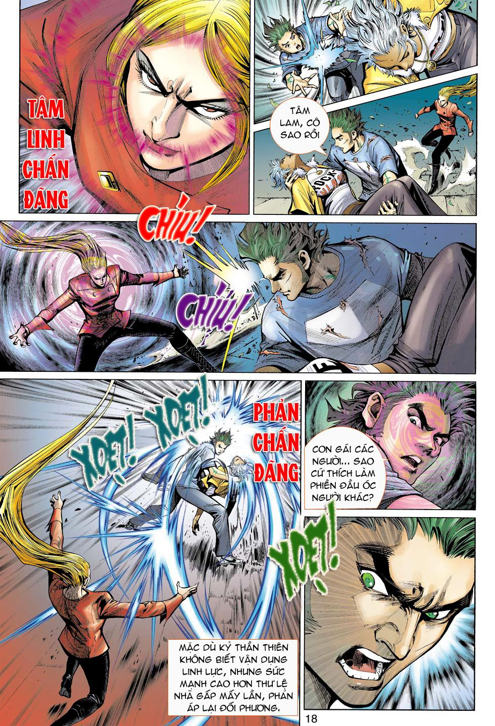 Thần Binh 4 chap 16 - Trang 18