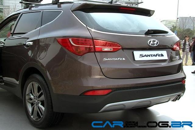Hyundai Santa Fé 2013 - traseira