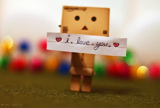 Gambar Foto Wallpapers Boneka Danbo Terbaru Terbaik romantis i love you