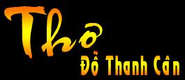 Trang thơ Đỗ Thanh Cân