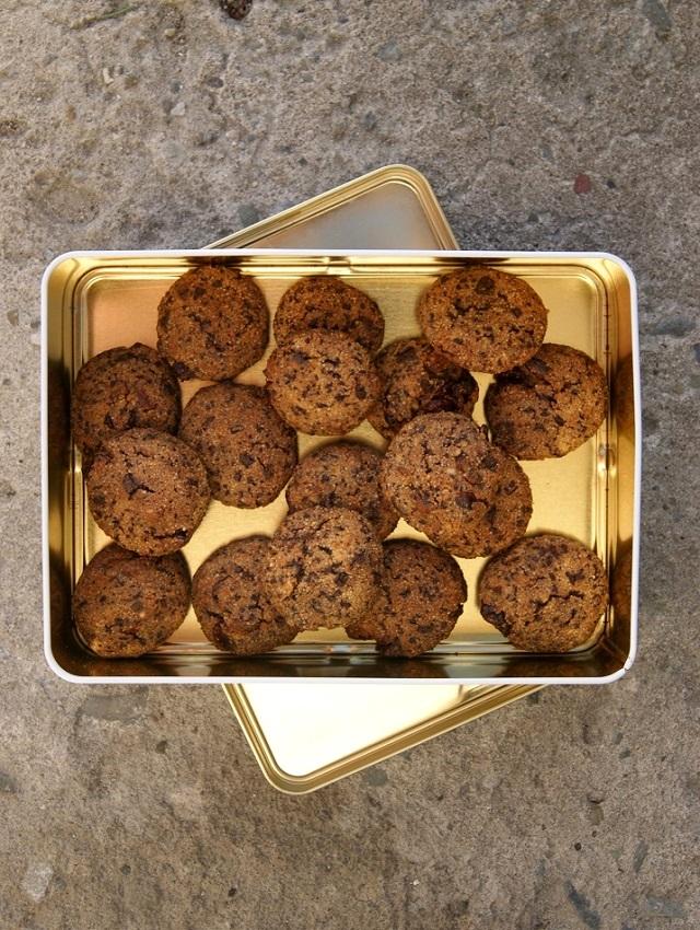 ciasteczka bezglutenowe czekoladowe