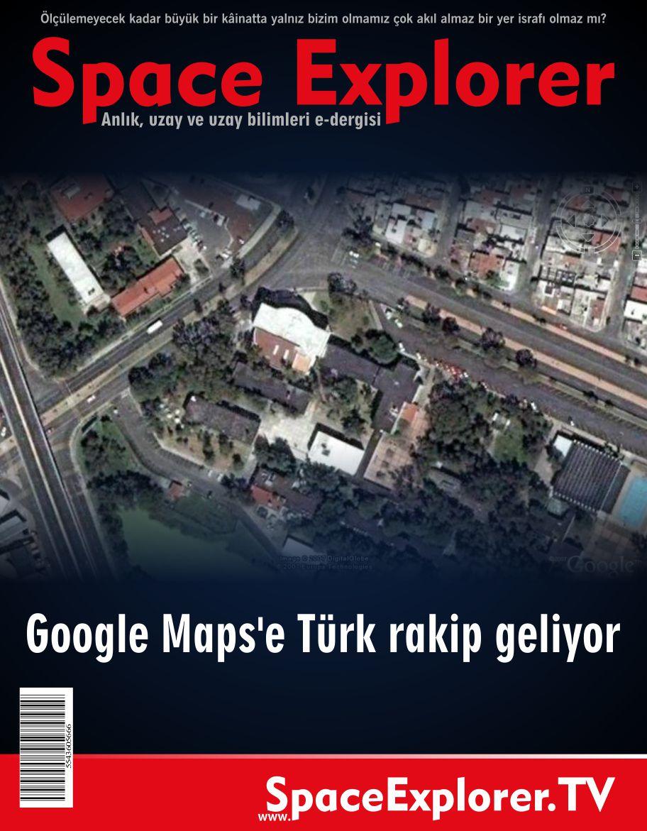 Google Maps'e Türk rakip geliyor
