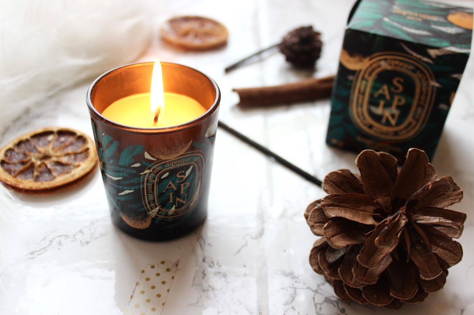 Diptyque Sapin Christmas Candle