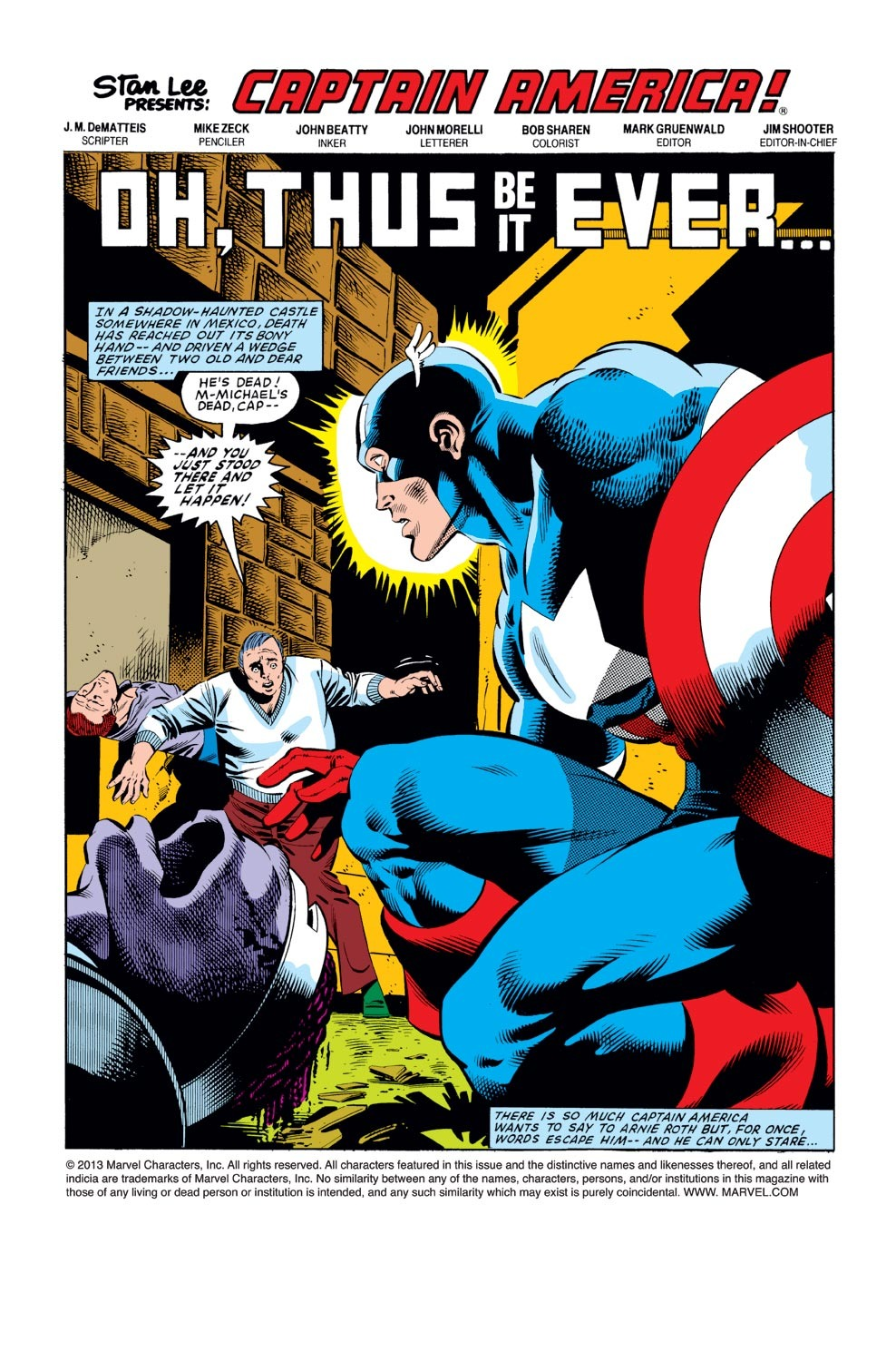 Captain America (1968) Issue #278 #194 - English 2