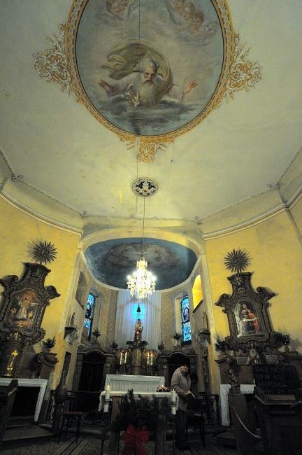 Kostel sv. Jakuba na Krásné - interiér, autor: Pavel Hála, 2008