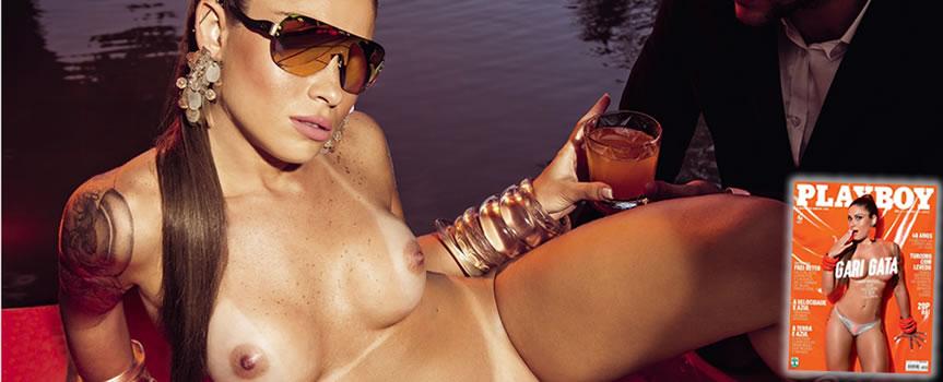 Playboy Setembro – Rita Mattos (Gari gata)