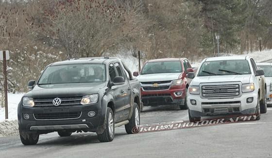Commercial Trucks: Spied: 2015 Chevrolet Colorado Duramax Diesel